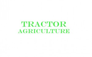 Tractor Agriculture